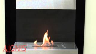 Melina - Wall Mounted Ethanol Fireplace By Ignis