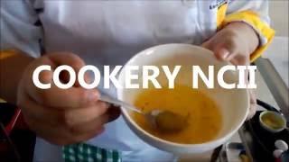 Cookery NCII - Apicius Culinary School Naga