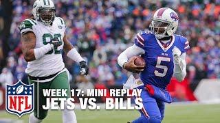 Jets vs. Bills | Brandon Marshall vs. Tyrod Taylor | NFL Mini Replay