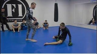 сМОТРИ ПОД НОГИ! Подсечки для MMA и Кикбоксинга K-1