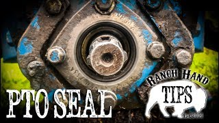 Tractor Pto Seal Replacement