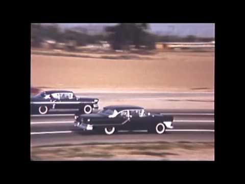 1958 black chevy impala daily driver and a stock class racer total