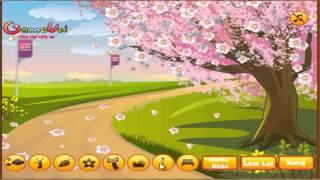 Hướng dẫn chơi game Trang trí công viên - Create Your Blossom Tree trên Game Vui