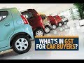 GST on cars  What gets cheaper, costlier
