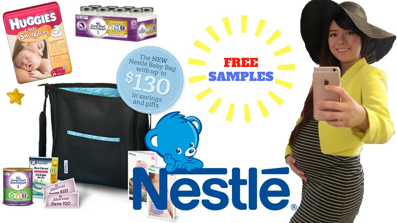 FREE SAMPLES from NESTLE BABY | BABY FREEBIES Part 7 | Angie Lowis