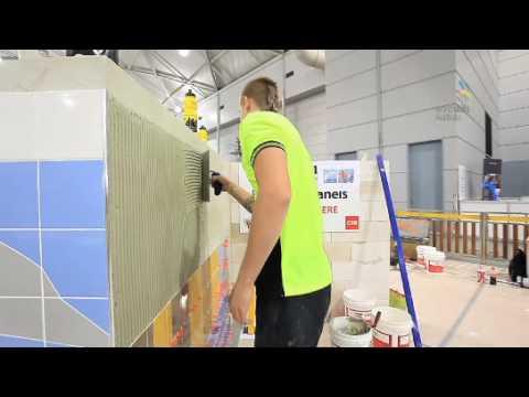 WorldSkills Australia National Competition - Brisbane 2010 -  Wall & Floor Tiling