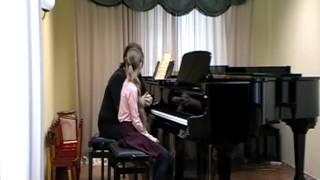 Открытый урок Федоровой М.М. с Дмитриевой Ольгой (Часть 1)
