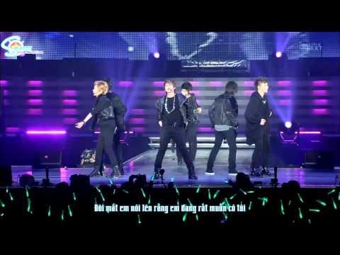 [Vietsub] [Perf] SHINee ft EXO-M's Lay - Juliette (SHINee World Concert)
