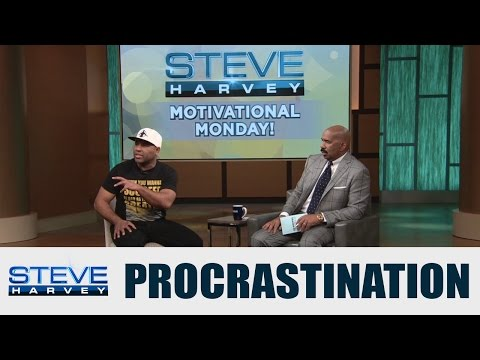 Motivational Monday: There is no such thing as procrastination || STEVE HARVEY