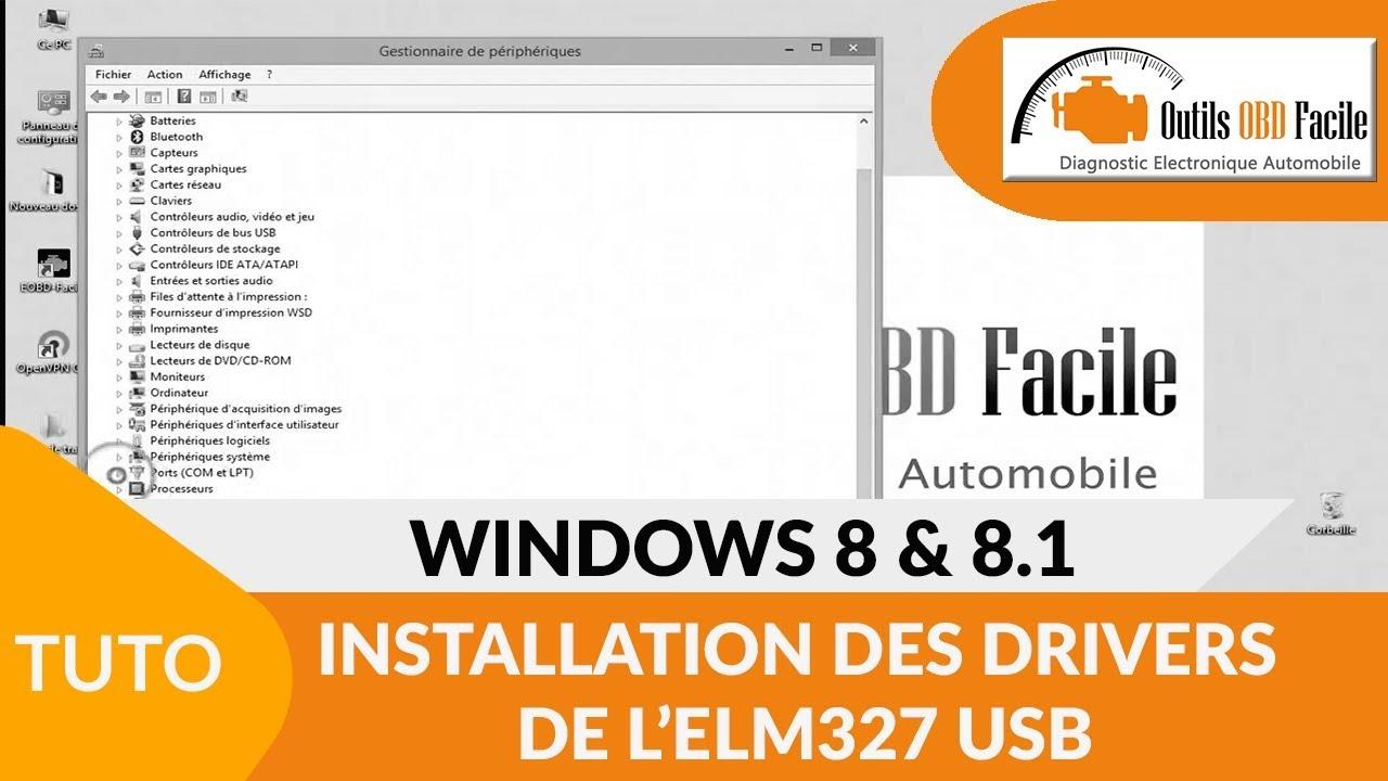 драйвера elm327 usb для windows 7