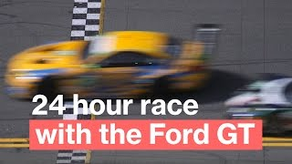 Watch the Ford GT Rip Up the Track at Its First U.S. Race