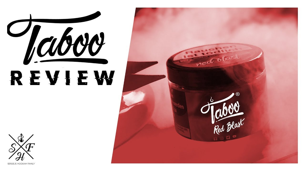 TABOO RED BLAST® - ☆TABAK REVIEW☆