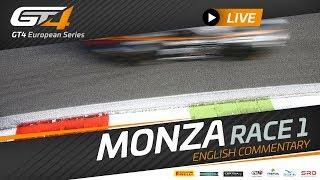 RACE 1 - GT4 MONZA - GT4 European Series 2019 - ENGLISH