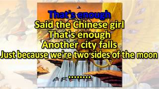 Asia - Two Sides Of The Moon ( KARAOKE )
