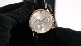 Edox Les Vauberts Chronograph Retrograde 01505 37R AIR
