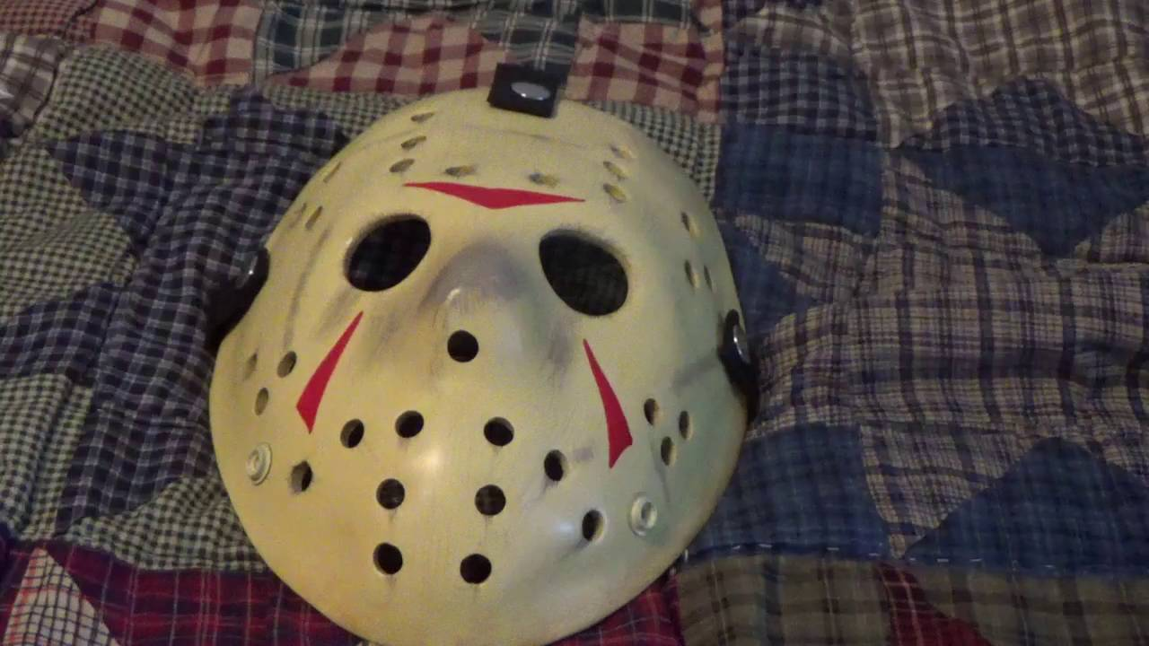 Friday The 13th Neca Jason Mask Replica From Part 3 Youtube