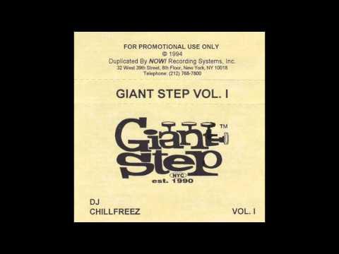 DJ CHILLFREEZ - GIANT STEP VOL. 1 - 1994 - (complete mixtape)