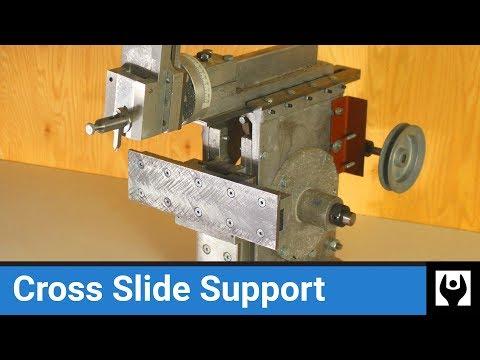 Shaper Cross Slide Support