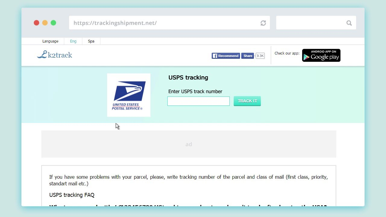 usps tracking number youtube
