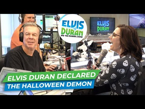 Elvis Duran - Elvis Duran Show Declares Elvis Duran The Halloween Demon