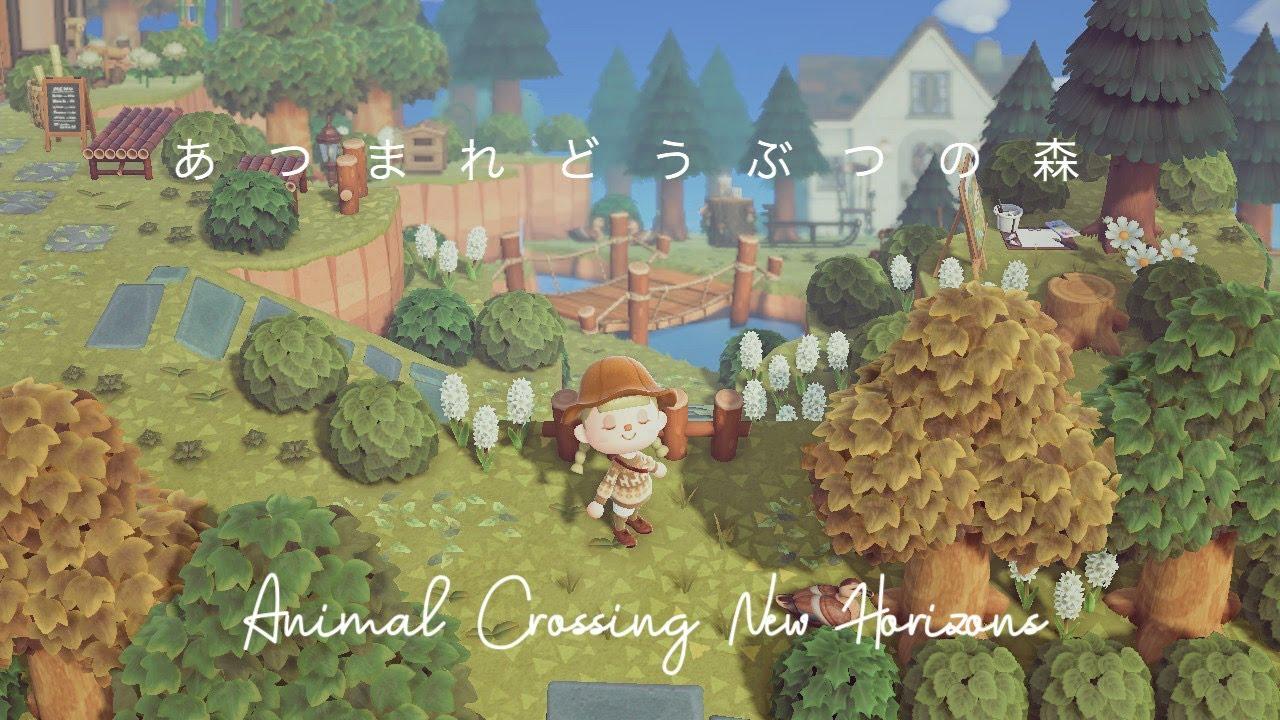 〔Vlog〕あつまれどうぶつの森 Animal Crossing New Horizons Island Tour 島紹介 静かに暮らす田舎エリア 