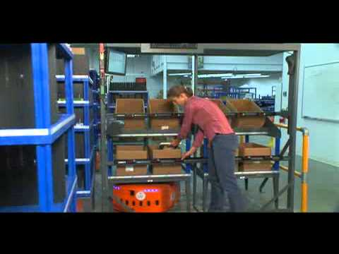Video: Kiva Systems and automated material handling order fulfilment