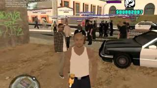 Download lagu SSL fight club is interrupted by LSPD MP3