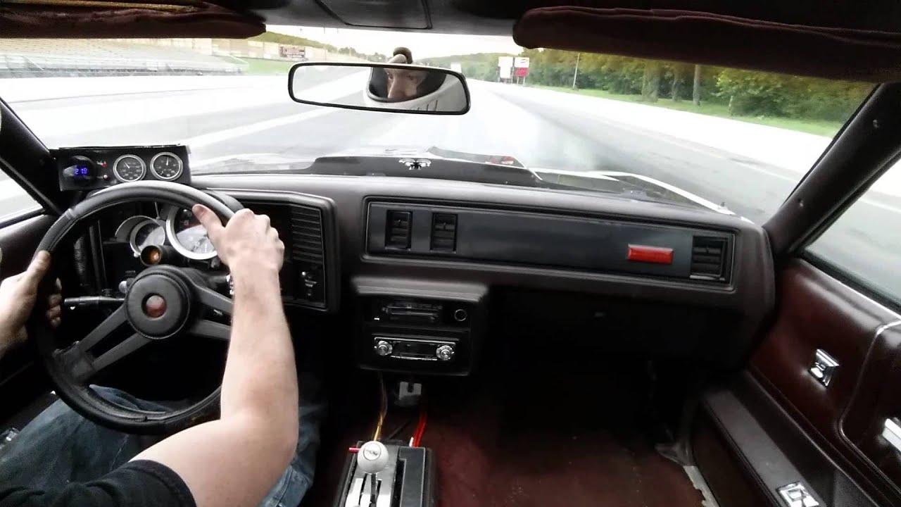 85 Monte Carlo SS 12 64 @ 106 MPH (in car)