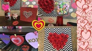 IDEAS para San Valentin/manualidades y regalos para alguien especial