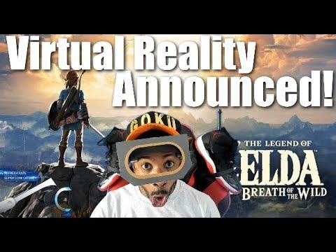 Nintendo Announces VR For Mario Odyssey & Zelda Breath Of The Wild On Switch! Labo Toy-Con VR