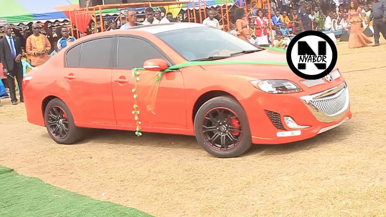 #KantankaIsHere: Apostle Safo Unveils Car That Can Be Started By a Handkerchief (2015 Exhibition)