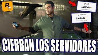 CIERRE DE SERVIDORES DE PS3 PARA GTA ONLINE! SE ACABO EL ONLINE EN PS3?!