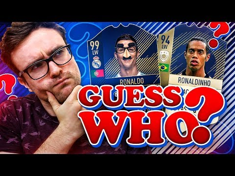 GUESS WHO FIFA!!! Fifa 18 Special Pack Opening Challenge
