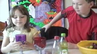 Two Kids Cooking Tv: Brains On The Half-skull With Alien Potion And Vampire Cocktails