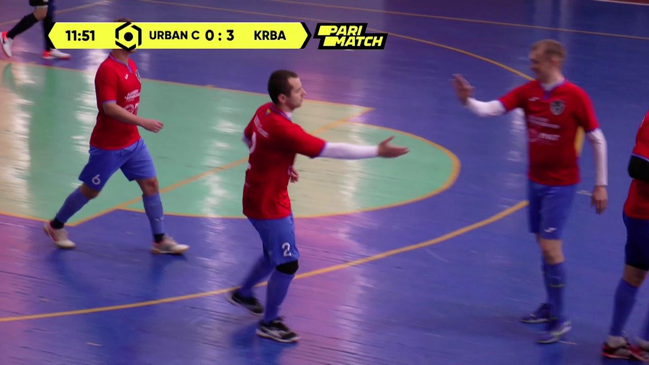 Матч повністю | Urban Sport City 3 : 6 KRBA Team