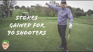STROKES GAINED FOR THE AVERAGE GOLFER