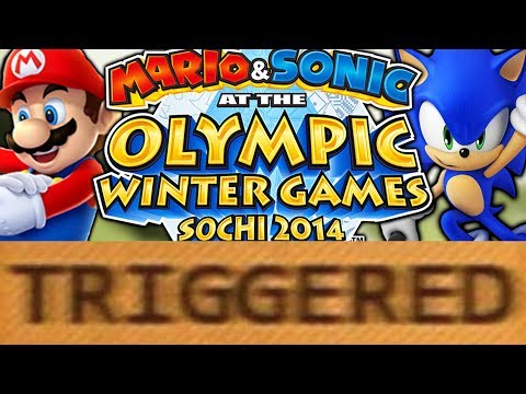 How Mario And Sonic At The Sochi 2014 Olympic Winter Games TRIGGERS You!