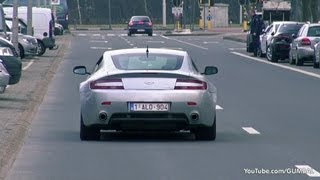 Aston Martin V8 Vantage - Exhaust notes!