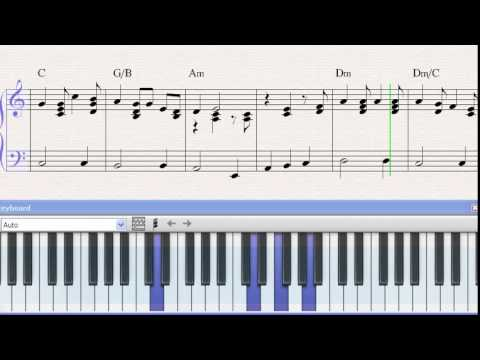 Partitura Piano Prometo Fonseca Demo Youtube