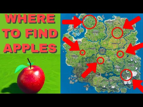 WHERE TO FIND APPLES in Fortnite to Eat for the Free Fortnite Cup (Fortnite Apple Locations)