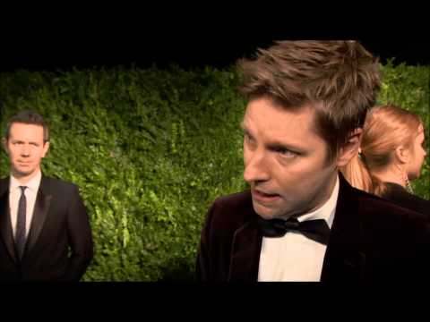 Interviews with celebrities as they arrive at The London Evening Standard Awards, November 2014
