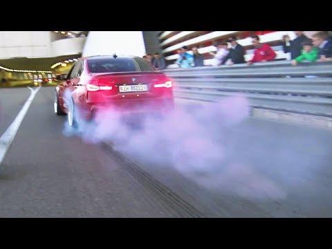 Best of BMW M Sounds -  CRAZY Action, Burnouts & Accelerations!