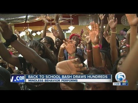 Back-to-school Bash in West Palm Beach