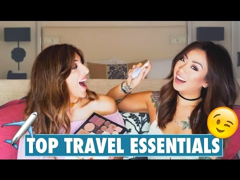 TOP TRAVEL ESSENTIALS With Claire Marshall!   Amelia Liana