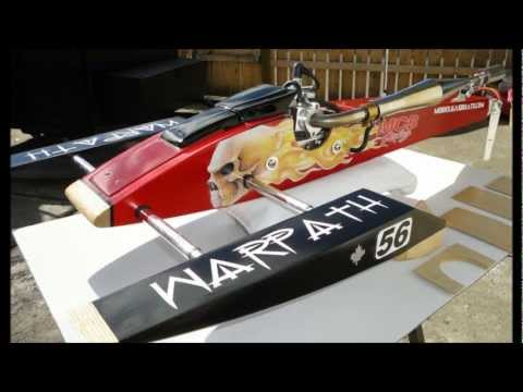 Misty Creek Boats - Warpath Rigger Pictures - RCMK - MGB Kit - Gas RC boat
