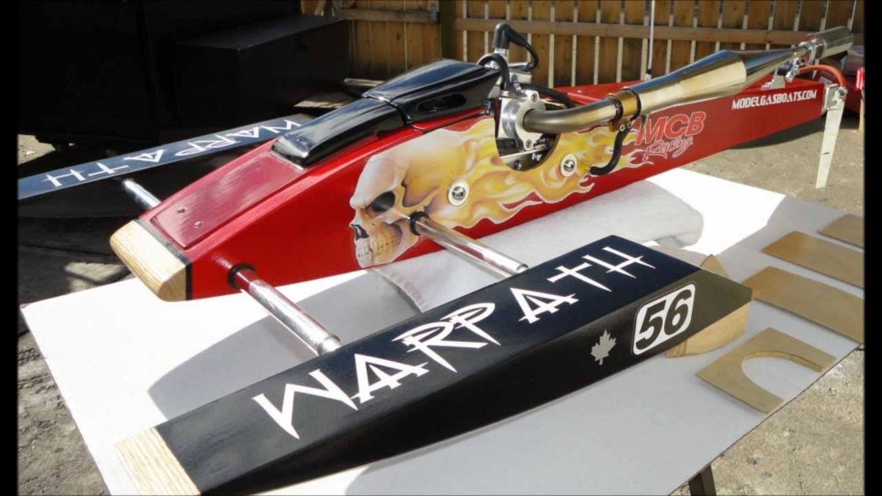 Misty Creek Boats - Warpath Rigger Pictures - RCMK - MGB Kit - Gas RC boat - YouTube