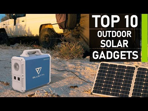 Top 10 Best Camping Solar Powered Gadgets
