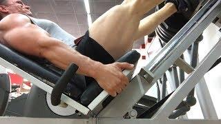 Тренировка ног на Майорке. Натуральный бодибилдинг