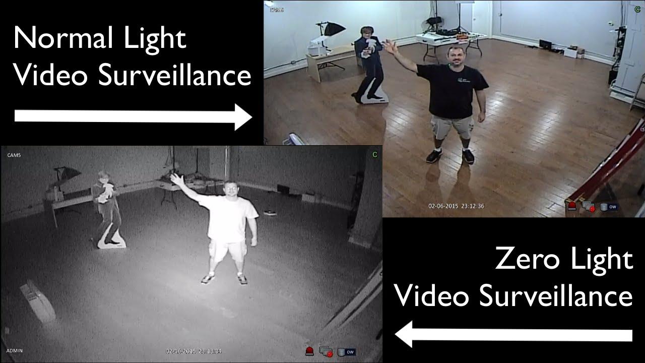 Ir Cctv Security Camera Day Night Video Surveillance Demo
