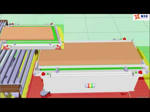 AGV Conveyor Belt- Xe tự hành AGV băng tải - Auto Loader/ unloader